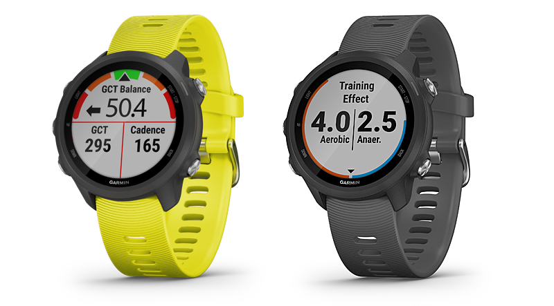 Forerunner 245 in Amp Yellow and Slate Grey (Image source: Garmin)