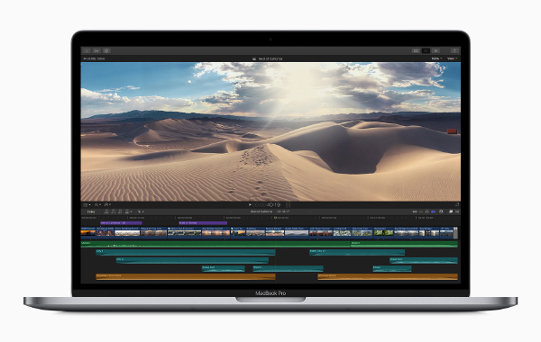 The new 15-inch MacBook Pro (Image source: Apple)