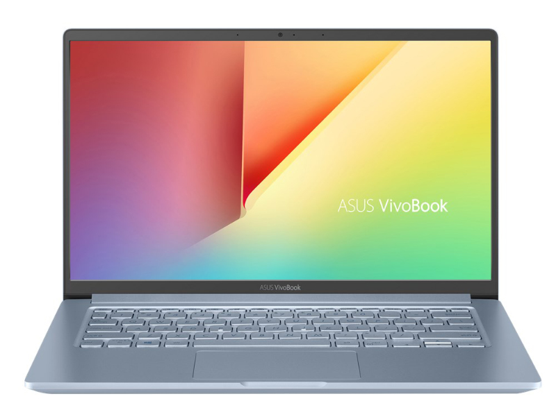 The VivoBook S14 is a very good option if you are looking for a portable notebook with a long battery life. (Image source: ASUS)