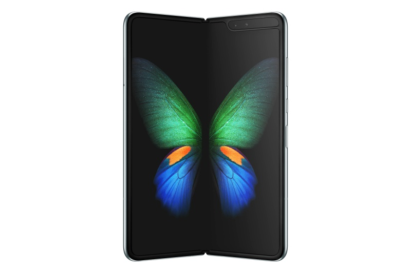 The Samsung Galaxy Fold. <br>Image source: Samsung