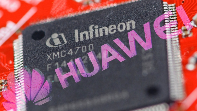 Infineon sells micro-controllers and power management integrated circuits to Huawei. <br>Image source: AP.