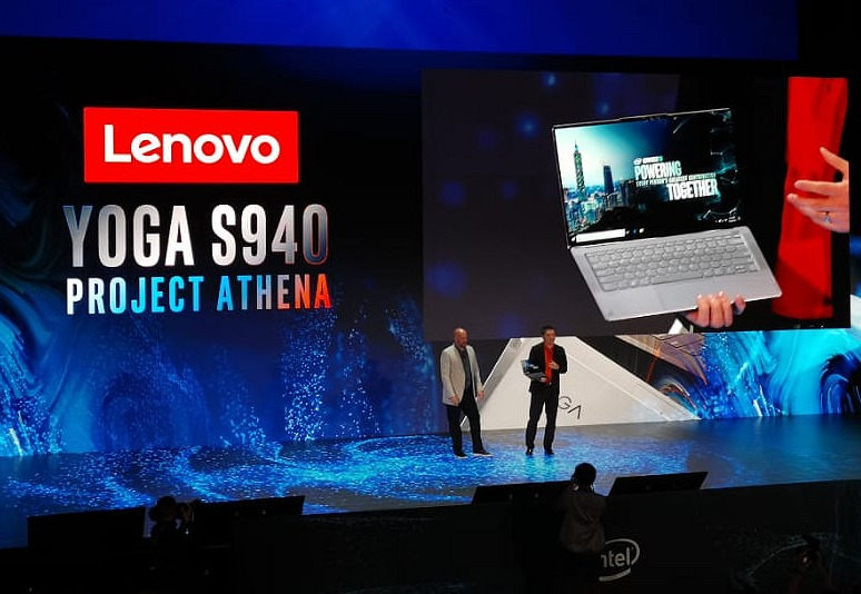 Lenova's upcoming Yoga S940 will be part of the first wave of notebooks to showcase Project Athena's key experience indicators.