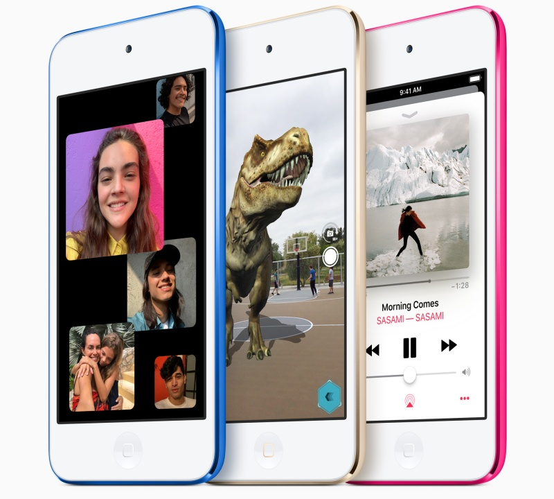 The new iPod Touch. <br>Image source: Apple