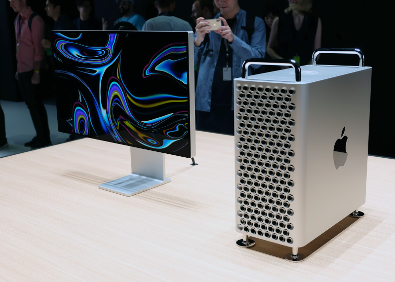 The Apple Mac Pro and Pro Display XDR.