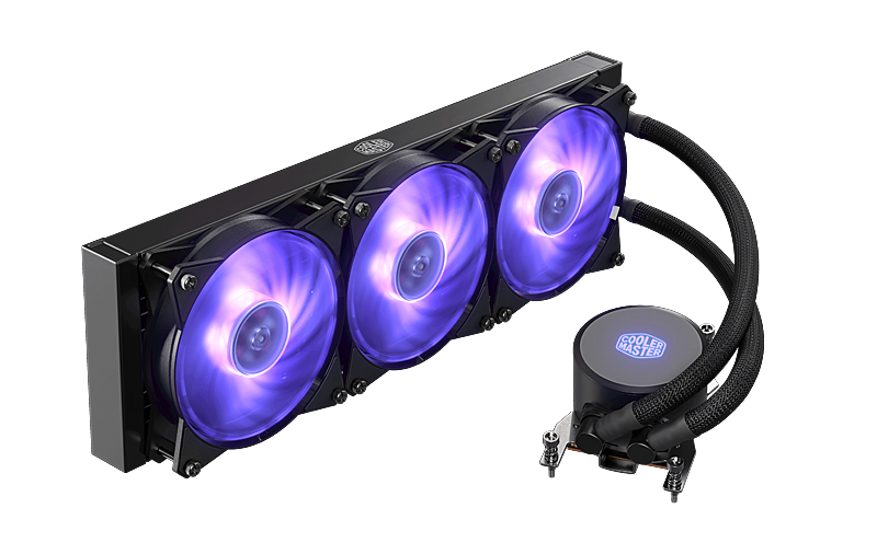 Cooler Master MasterLiquid ML360 RGB TR4 edition (Image source: Cooler Master)