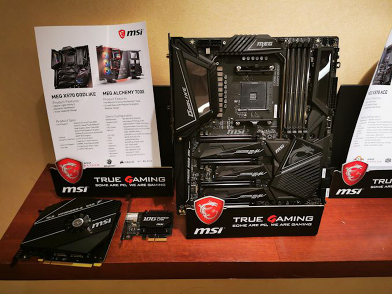 MSI MEG X570 Godlike : The most feature-packed AMD X570