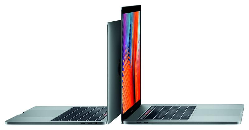 The 2016 MacBook Pro notebooks.