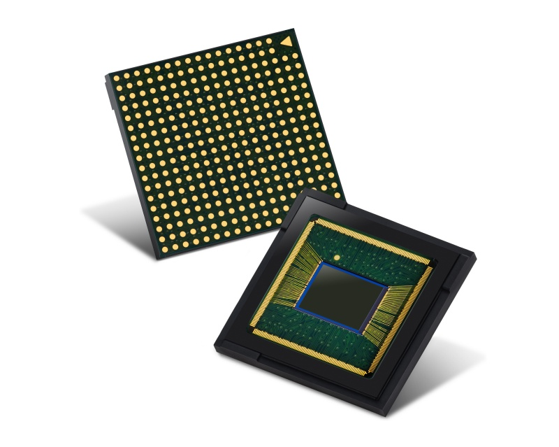 Samsung's 48MP ISOCELL Bright GM2 mobile camera sensor. <br>Image source: Samsung