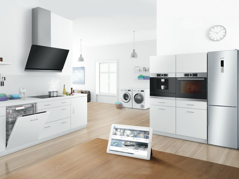 Bosch Home Connect Lets You Control Your Kitchen From Your