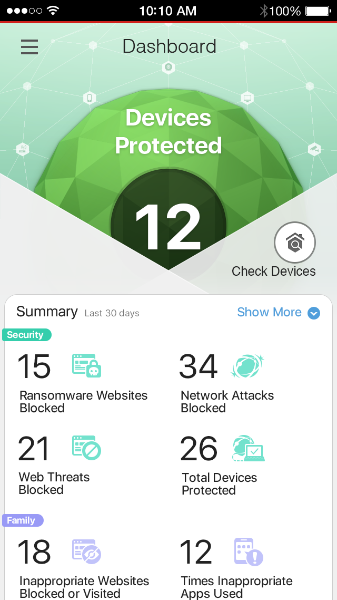 The Home Network Security app. (Image source: Trend Micro)