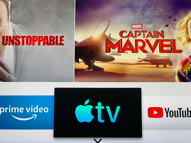 Samsung smart TVs are the first to get the new Apple TV app.