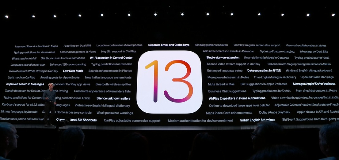 The 2019 iPhones will ship with iOS 13 — the latest version of Apple's mobile OS for its phones. Also, it will be released as a free update on 19 September.