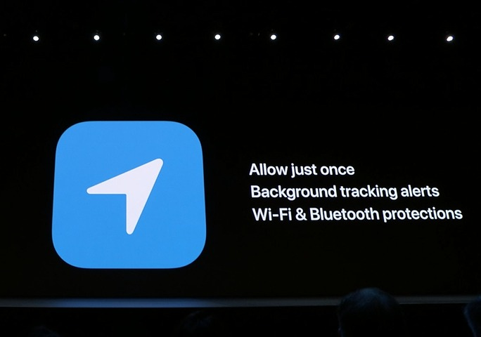 Apple doubles on privacy with more options within location services.