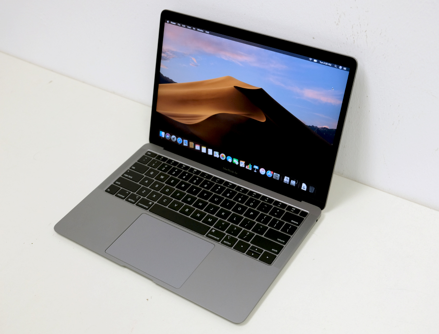 The MacBook Air (2018) was unveiled in October 2018.