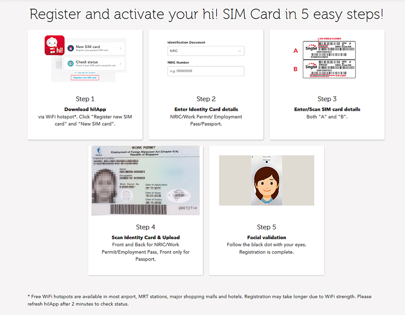Skip the queue with Singtel's new digital self-registration