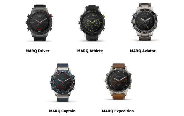 Garmin launches its MARQ collection of luxury smartwatches