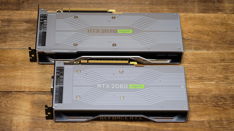 NVIDIA GeForce RTX 2070 and 2060 Super