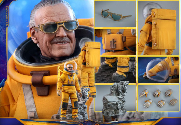 Hot Toys Stan Lee Guardians of the Galaxy Vol 2. (Image source: Hot Toys)