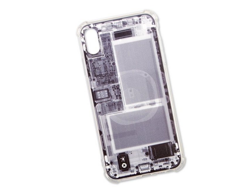 iFixit Insight X-Ray case for the iPhone. <br>Image source: iFixit