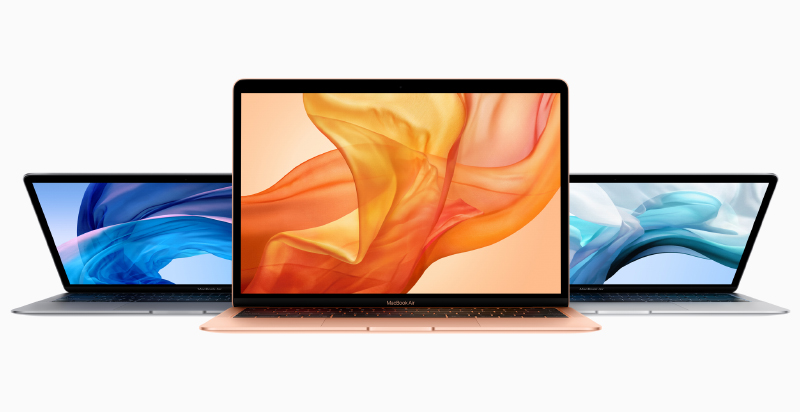 The MacBook Air will be our test machine. (Image source: Apple)