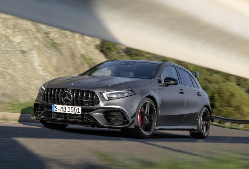 The Mercedes Amg A45 S Features The World S Most Powerful