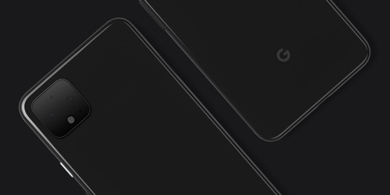 The official design of the Google Pixel 4. <br>Image source: @madebygoogle