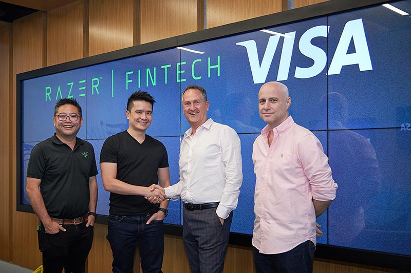 Razer Visa partnership