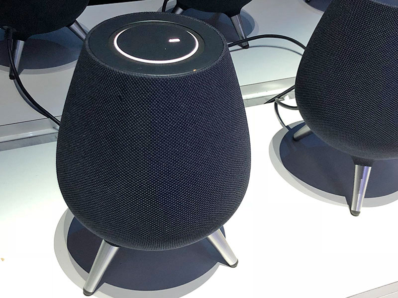 The Samsung Galaxy Home smart speaker was announced in August 2018.