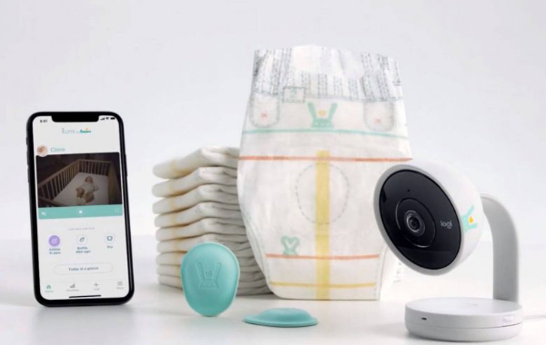 Sensors on the diapers send information on a baby's sleep and wake times and allows the parents to manually track additional information. PHOTO: SCREENGRAB FROM PAMPERS.COM