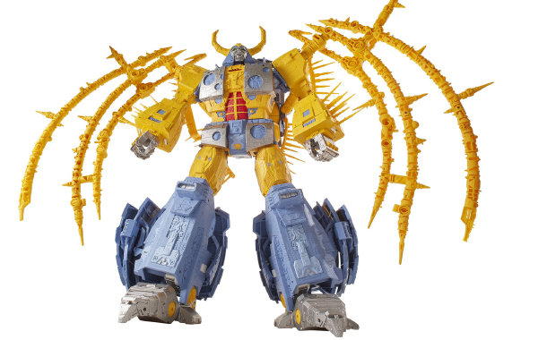 Unicron in robot mode. (Image source: Hasbro)