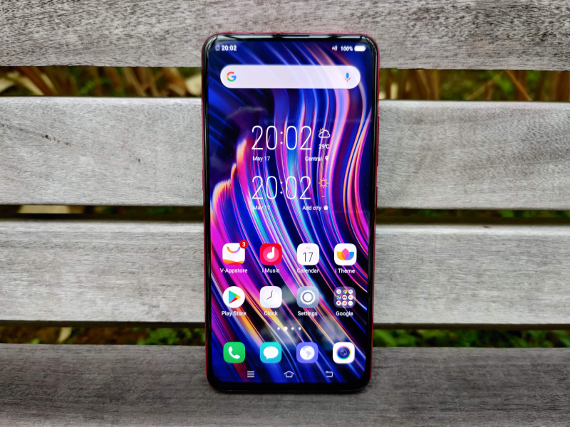 The Vivo V15 Pro wades into battle with its full-screen notchless display.