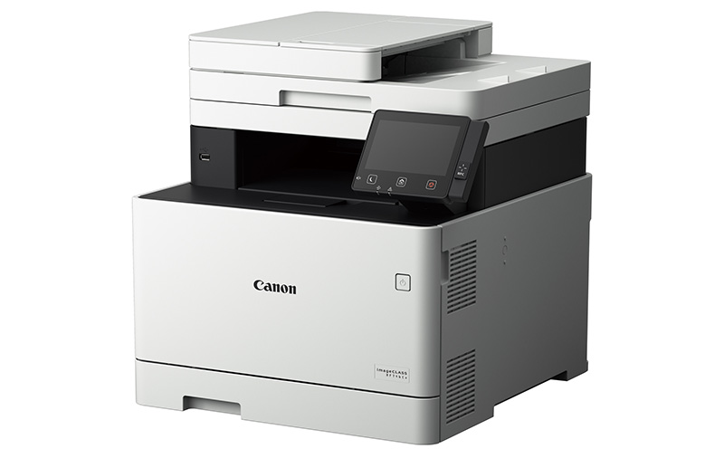 The Canon imageCLASS MF746Cx has a top print speed of 27ppm. (Image: Canon.)