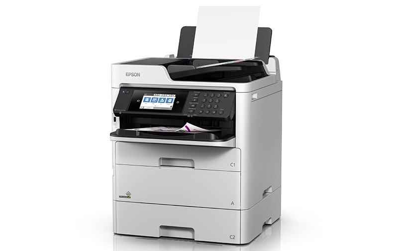 Epson's WorkForce Pro WF-C579R high-yield business inkjet printer is