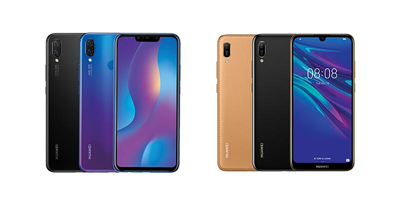 Left: Huawei Nova 3i; Right: Huawei Y6 Pro 2019