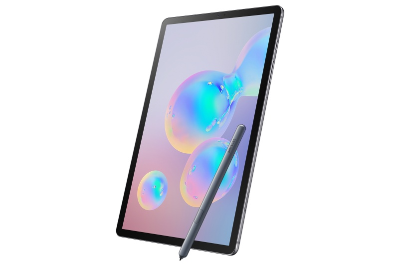 The Samsung Galaxy Tab S6.