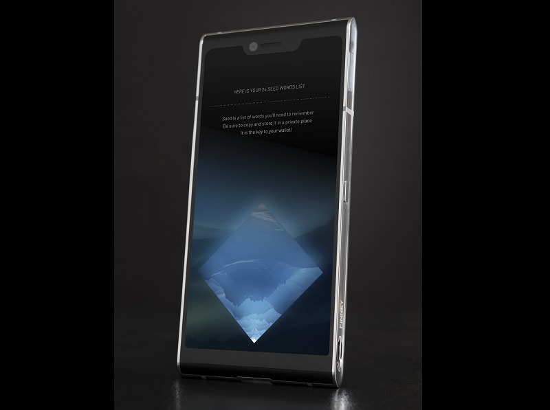 This is how the phone looks with the 2-inch multi-touch safe screen retracted. As a phone, it has a 6-inch 18:9 touch-screen, with front and rear cameras.