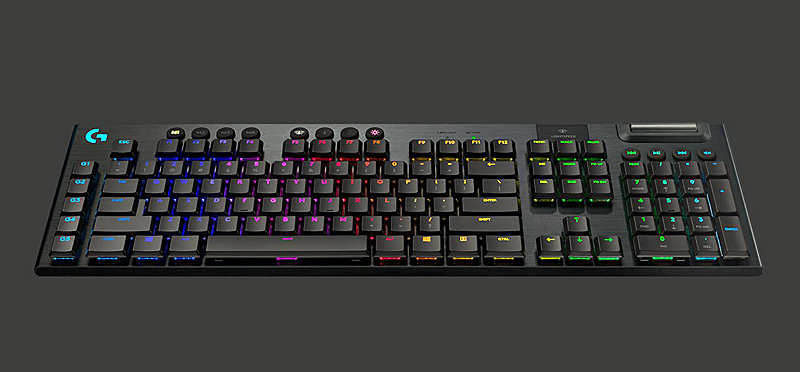 Logitech G915 Lightspeed wireless mechanical gaming keyboard  (Image source: Logitech)