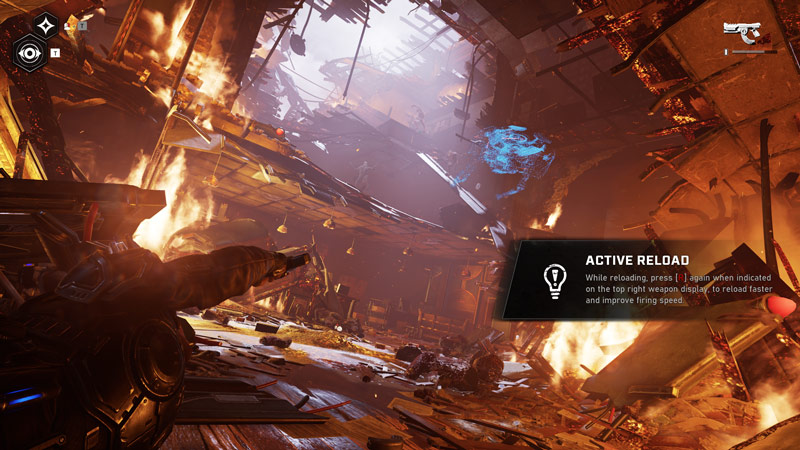 The game does a pretty amazing job at mixing great environments with big action-packed moments.