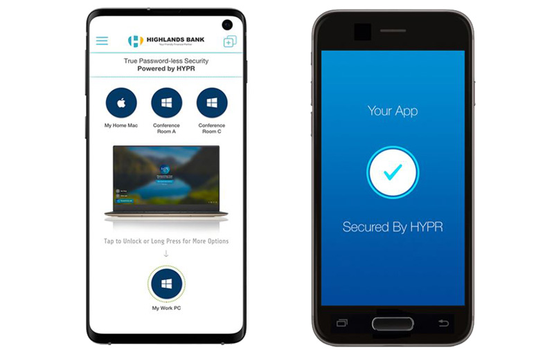 HYPR's solutions could mean no more passwords to remember.