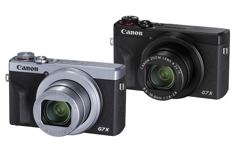 The PowerShot G7 X Mark  III is available in silver and black.