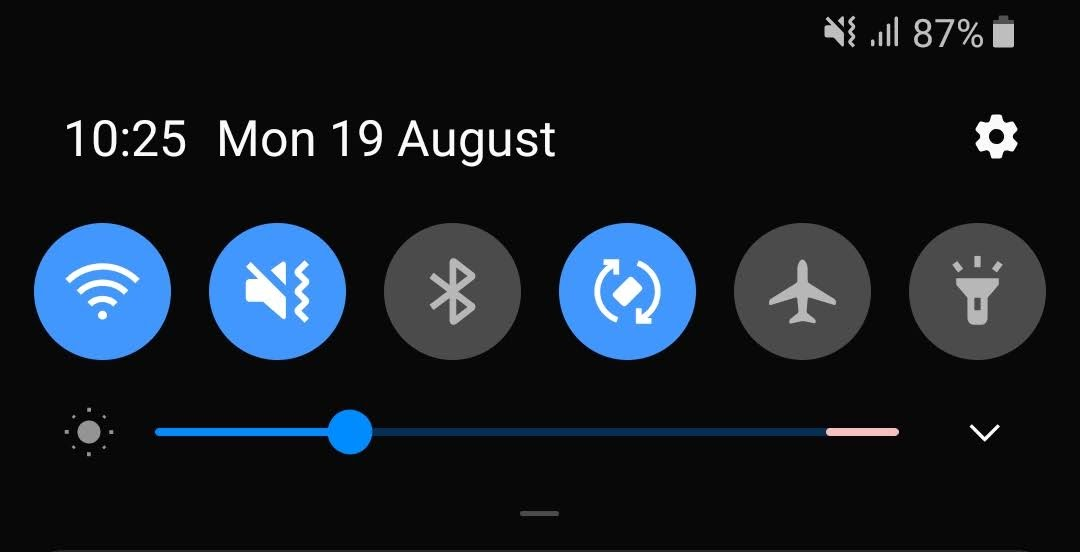OneUI is approaching the level of customisation previously only seen in Chinese phones. For example, the placement of the brightness slider (above or below the toggles) can be adjusted in the notification shade.