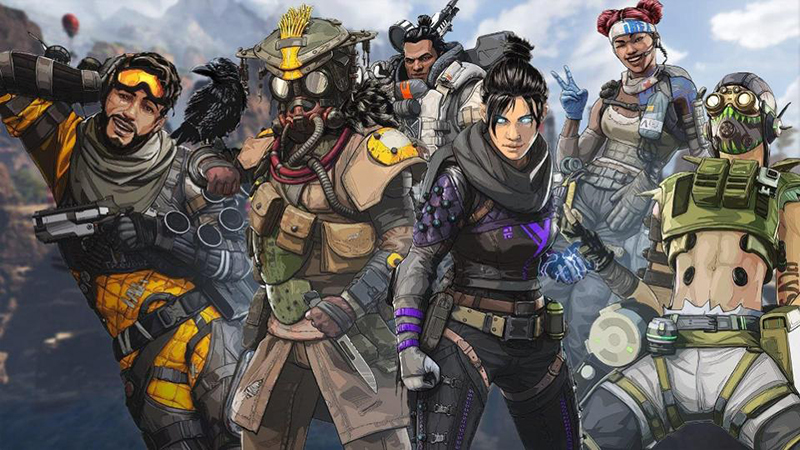 Apex Legends is one of the titles that will benefit from the new driver. (Image Source: Respawn)