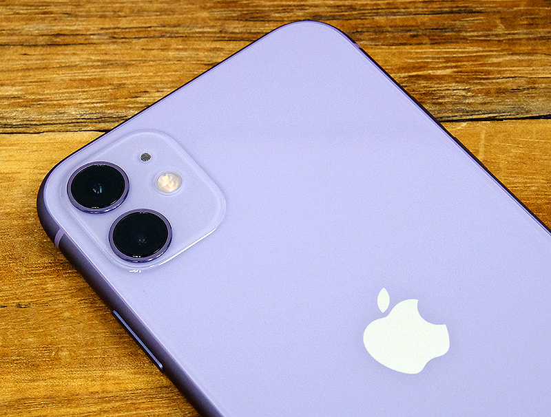 The iPhone 11 lacks the iPhone 11 Pro's telephoto camera.