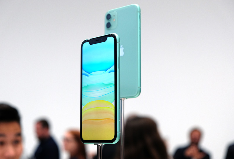 The iPhone 11 immediately looks familiar.