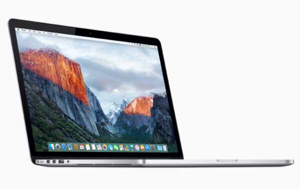 The 15-inch MacBook Pro. <br>Image source: Apple