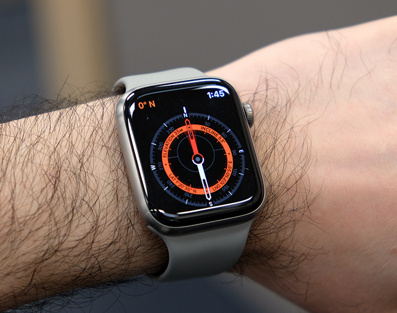 The built-in compass is a helpful and fun new addition to the Apple Watch.