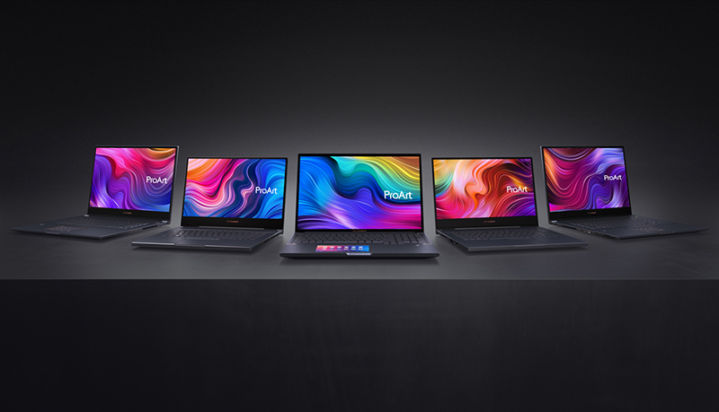 ASUS also announced several other laptops in the ProArt StudioBook series. (Image Source: ASUS)