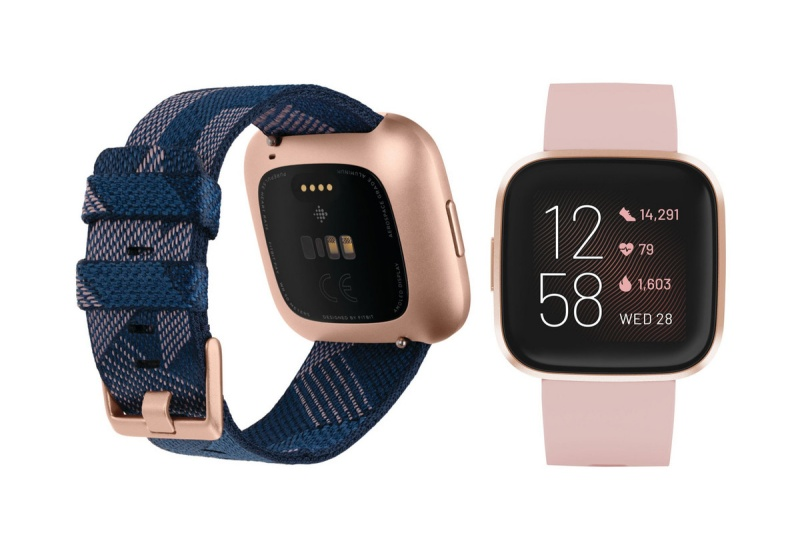 This could be Fitbit's upcoming Versa smartwatch. <br>Image source: @evleaks