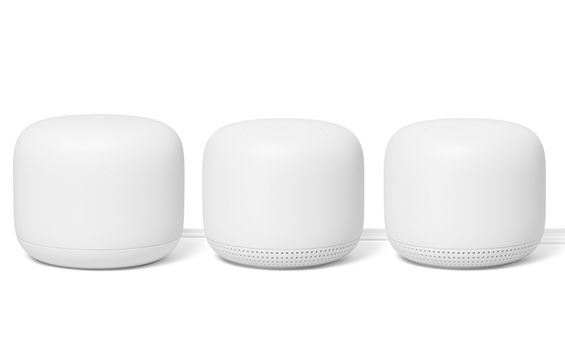 The Nest Wifi is Google's latest mesh networking system. (Image source: Google)