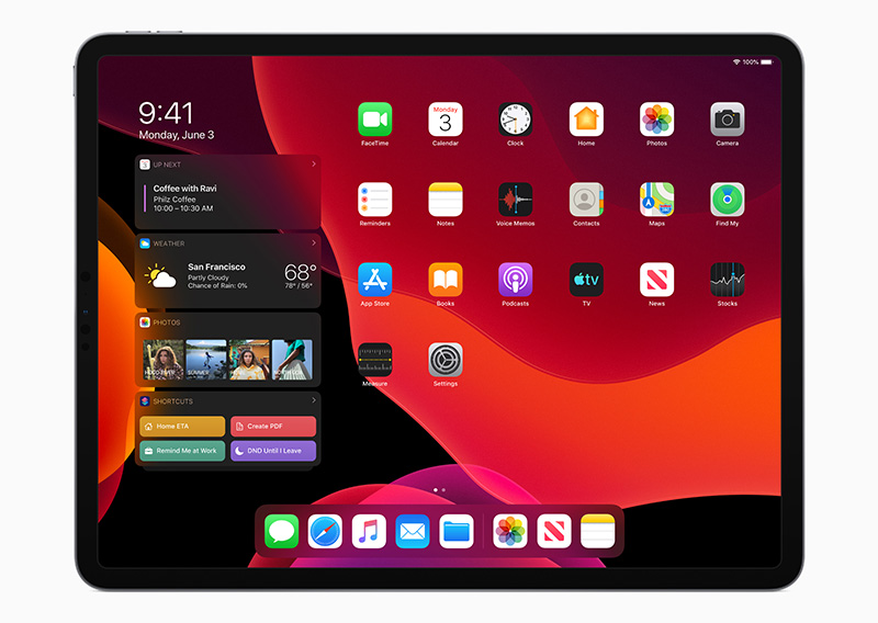 iPadOS lands this fall and dramatically changes the functionality of the iPad. (Image source: Apple)